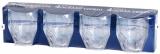 Ancor Line - Serie von unzerbrechlichen Gläsern Set 4 Wassergläser, 360 ml