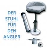 Steuerstuhl Bootssitz Steuersitz Fischersitz 440 - 660mm