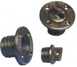 Lenzstopfen schwarzer Kunststoff, Ø=25 mm