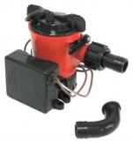 Bilge - Lenzpumpe L 450 49 l/Min. mit Schalter  Kapazität 12 V