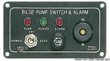 Schalttafel für Elektrobilgenpumpen Bilgepumpe Lenzpumpe mit akustischem Alarm