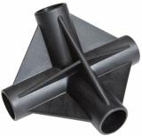 Dachverbinder (C) 120 / 90° als Mittelstück bei Dachkonstruktionen TRAFLEX System 30 Typ C