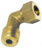 Druckanschluss Kupferleitung 90Grad A 12 mm x 3/8