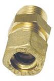 Druckanschluss Kupferleitung gerade Außengewinde A 10 mm x 1/4