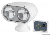 Halogen doppelter Suchscheinwerfer, Elektrische Steuerung mit Kontroll-Paneel, 12V