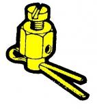 Klemmnippel für Schaltzug CC170 und Stopkabel