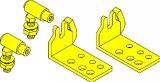 Teleflex Universeller Innenborder Anschlußsatz für Kabel CC230 & CC330 & CCX633