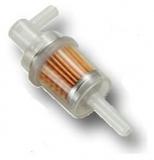Kraftstoff Filter Benzin  Universal für Schlauch Ø 6- 8 mm  rechtwinklig