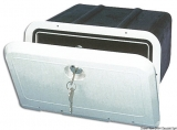 Aufbewahrungskasten mit weißer Front 285x180 mm  mit Schloss