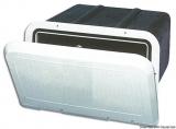 Aufbewahrungskasten mit weißer Front 285x180 mm ohne Schloss