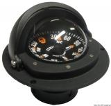 Riviera Kompass Zenit mit verschließbarer Teleskophaube 3 Zoll schwarz