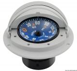 Riviera Kompass Zenit mit verschließbarer Teleskophaube 3 Zoll grau