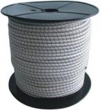 Gummiseil weiss als komplette 75m Spule Durchmesser 6mm