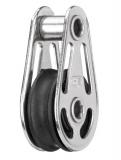 Sprenger 6mm Gleitlagerblock mit 1 Rolle auf Hohlachse