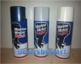 Marine Motor Paint Farbspray für Außenborder von EVINRUDE in silber MSF 109