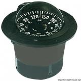 Riviera Kompass 4 Zoll Einbaumodell für Berufsschifffahrt und Fischerei