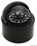 Riviera Kompass 4 Zoll mit Sockel und Teleskopdeckel schwarz