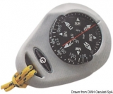 Handkompass mit Gummiarmierung Mizar grau