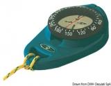 Handkompass mit Gummiarmierung Orion blau