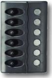Schalttafel 12 V mit 6 Schaltern Mit LED BBN7