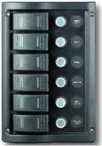 Schalttafel 12 V mit 6 Schaltern mit LED Indikatoren  BBN9