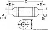 102mm Anschluss Schalldämpfer von Centek