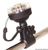 Halterung für Positionslampe Navisafe-Lampe Navi light 360 oder Dreifarben Navisafe-Lampe Navi light 360  Rohre mit einem Durchmesser von 25 mm