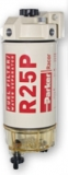 Dieselfilter Spin-On Filter mit Wasserseparatoren und Klarsichtbehälter 170L/h