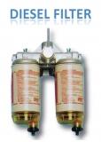 Dieselfilter Spin-On Filter, doppelt, umschaltbar  454L/h