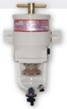Dieselfilter Heavy duty Turbine Dieselfilter, mit Wasserseparator und Klarsichtbehälter 341L/h