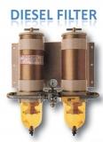 Dieselfilter Turbine -Filter mit Manometer, doppelt, umschaltbar 1363L/h