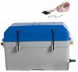 Batteriekasten mit Belüftung, wasserdicht  360 x 185 x 220mm