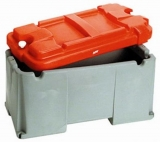 Batteriekasten zwei Batterien bis 200 Ah  520 x 585 x 320mm