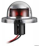 Kleine Navigationslichter UTILITY aus verchromtem ABS, 112°, rot