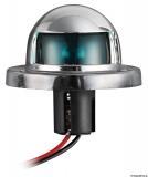 Kleine Navigationslichter UTILITY aus verchromtem ABS, 112°, blau