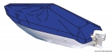 Persenning für offene Boote mit zentralen Steuerstand  Bootslänge 4,40 - 4,70 / 280cm