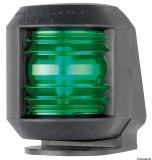 Navigationslicht Utility Compact zur Deckmontage, rechts, schwarz 112,5 Grad