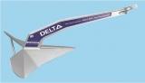 Delta Anker LEWMAR 50 kg, verzinkter Stahl