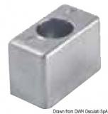 Anode für Außenborder Evinrude/Johnson 46x34x23mm Zink