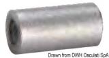 Anode Wärmetauscheranode 16x30mm Zink