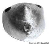 Anode MAX-PROP Zink Nabe innen 42 mm, für 28/35 mm Wellen  Anzahl Bohrung 3