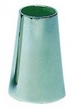 Konischer Halter, rostfreier Edelstahl AISI316, 90°, für Rohre ø 25mm