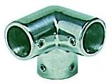 Relingstützenverbindung, 90°, Rohr ø 22mm