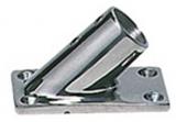 Relingstützenverbindung, 45°, Rohr ø 22mm