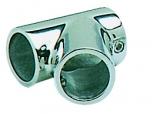 Relingstützenverbindung, 60°, Rohr ø 25mm