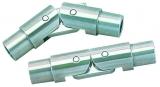 Relingscharnier zum Öffnen und Schließen, klappbar, für Rohr 30x2mm