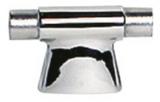 Handlaufstütze, Edelstahl AISI 316, Höhe 60 mm, Mittelstück