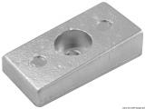 Plattenanode 75/225 PS 36x72mm Zink