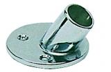 Relingverbindungsstück, geneigt, 60°, Rohr ø 22mm