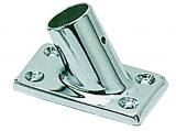 Relingverbindungsstück, rechteckig, 60°, Rohr ø 22mm